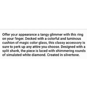 Unknown Jewelry - Northern Lights Ring